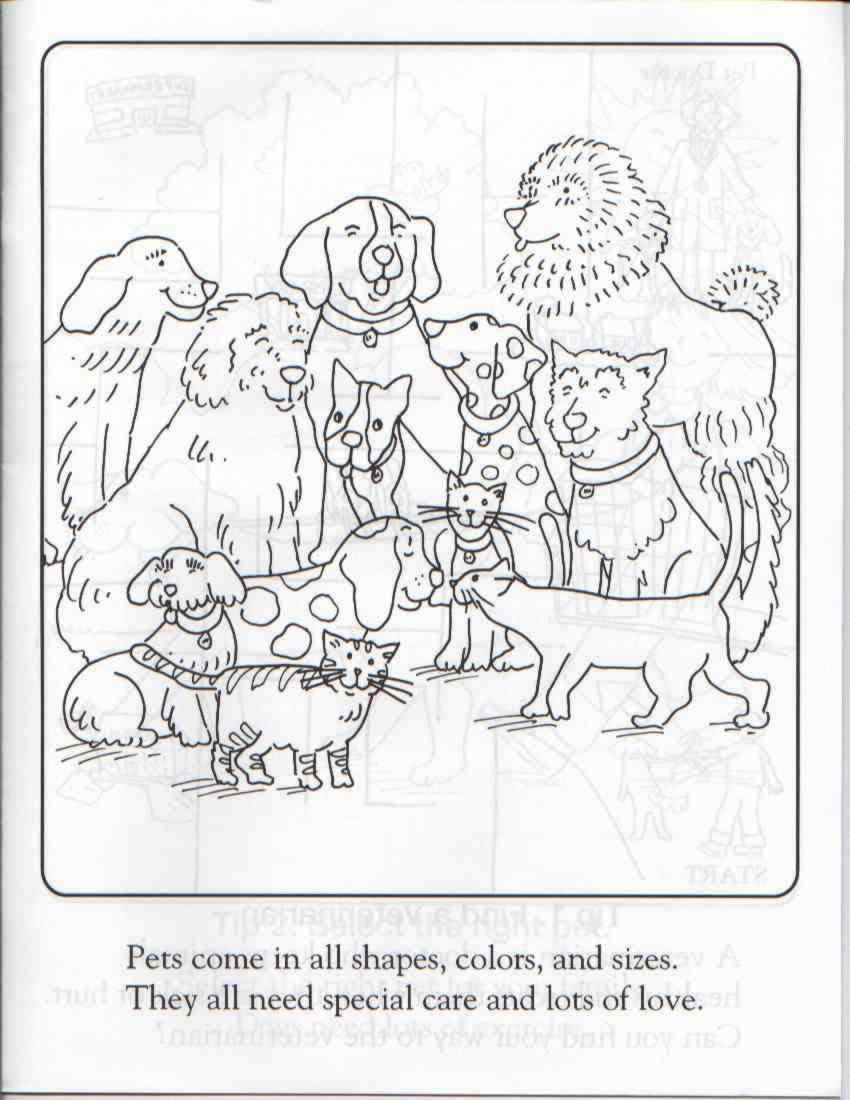 coloring pages animal rescue - photo#12