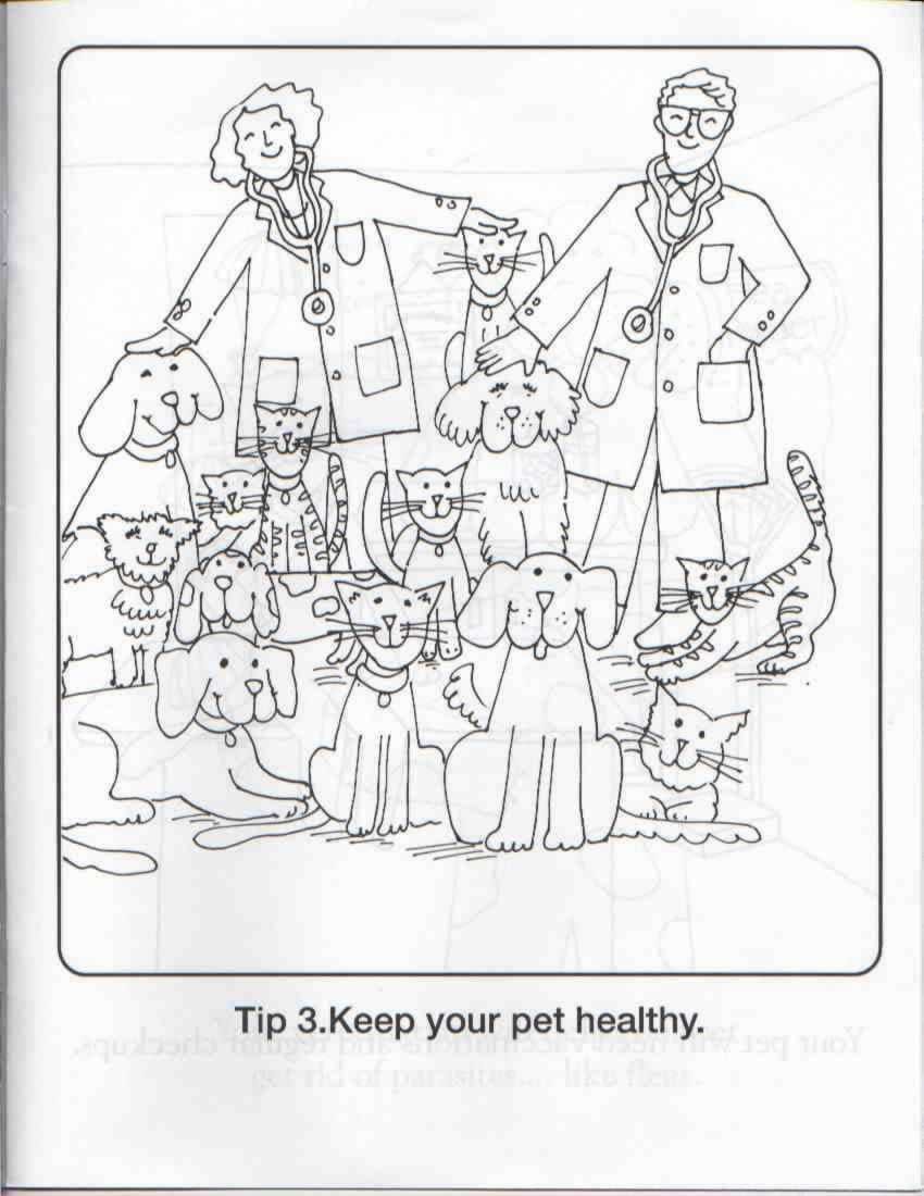 coloring pages animal rescue - photo#21